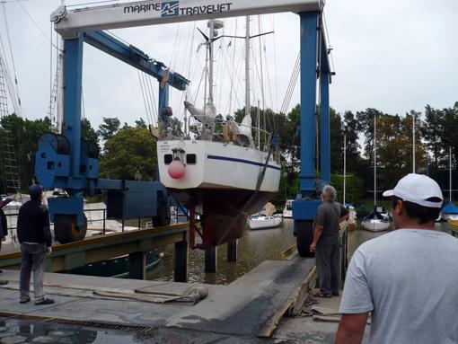 18 Tonnen hat der Kranführer gemeldet!