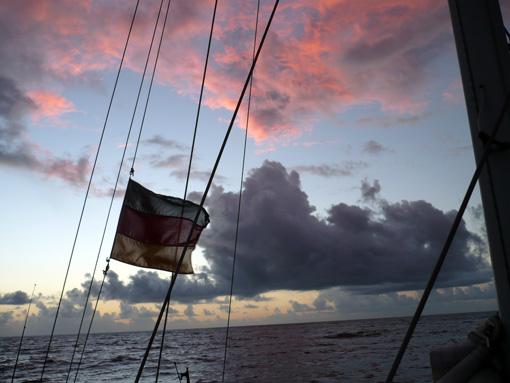 Sonnenaufgang vor Salvador