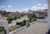 Blick vom Convent über den Marktplatz von Cachoeira