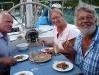 Geburtstagessen mit Leckereien von Inge und Fritz