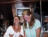 Ingrid und Anne beim Ablachen