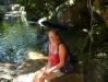 Am kalten Pool im Urwald