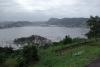 Blick vom Forte do Pico auf unseren Ankerplatz