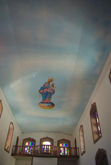 Deckengemälde in der Kirche