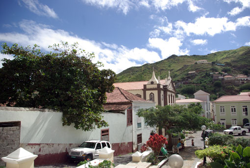 Sao Nicoloa, die Hauptstadt Ribeira Grande